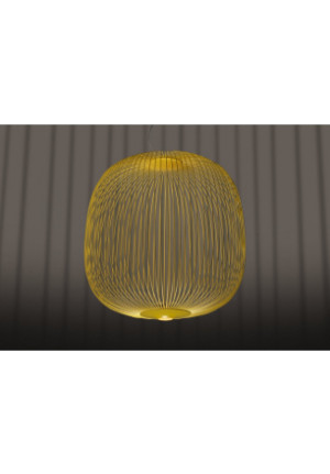 Foscarini Spokes 2 Large yellow