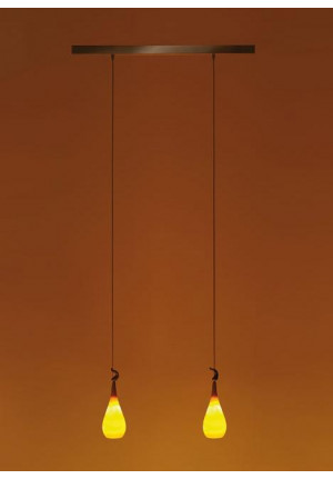 K-meral DAN pendant lamp 2-light with TIWI