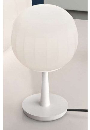 Luceplan Lita Table D92=18 base white aluminum
