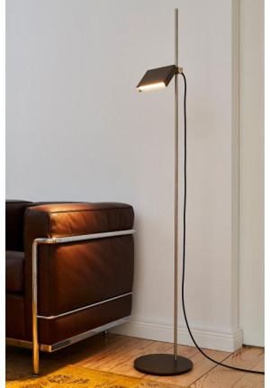 Mawa Flat Box floor lamp LED black