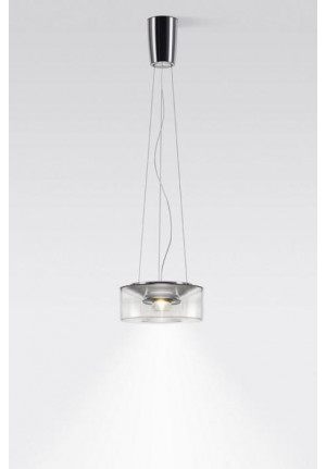 Serien Lighting Curling Suspension Rope Acryl clear S