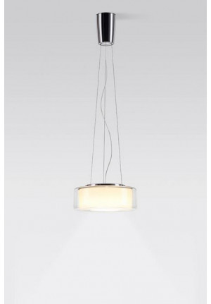 Serien Lighting Curling Suspension Rope clear/ cyl. opal