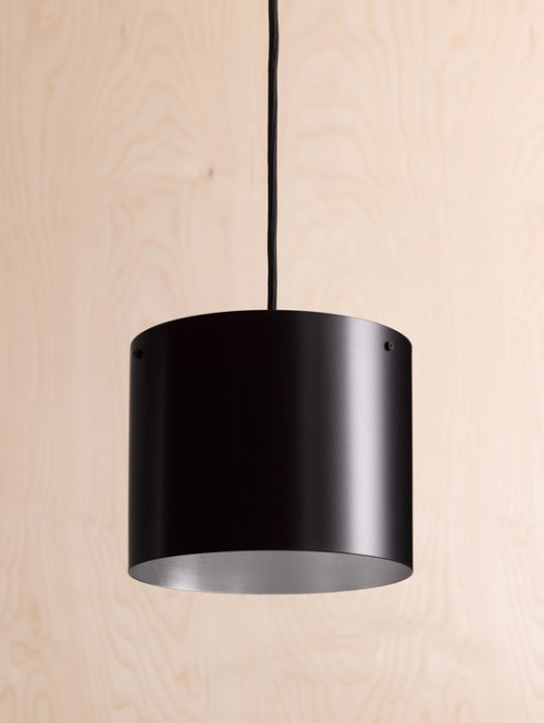 Anta Afra Suspended Lamp black inside silver