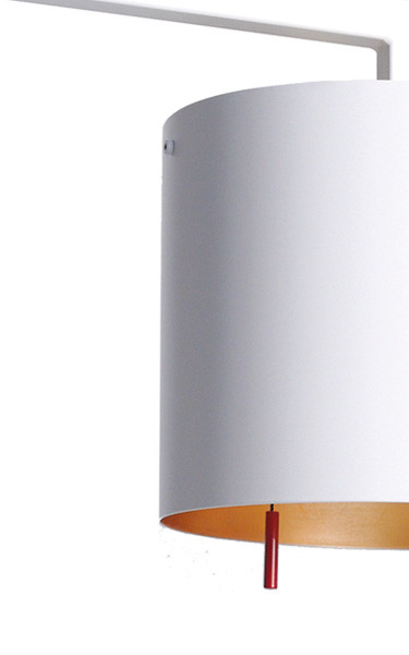 Anta Afra Table Lamp white inside gold