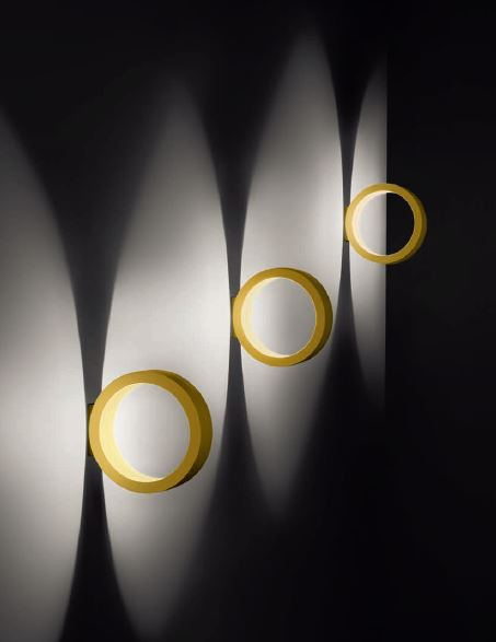 Cini & Nils Assolo wall and ceiling lamp gold