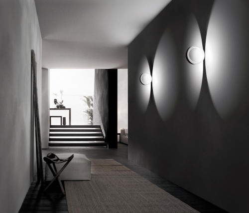 Cini & Nils Assolo wall and ceiling lamp white