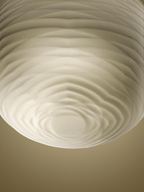 Foscarini Gem Sospensione LED shade from below