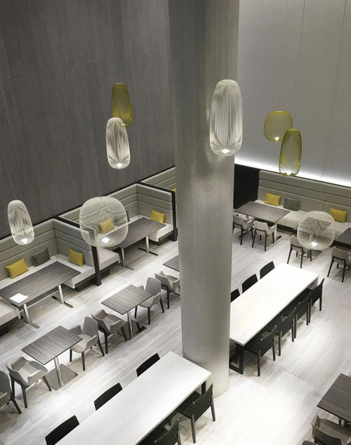 Foscarini Spokes 1 MyLight and 2 MyLight white and yellow
