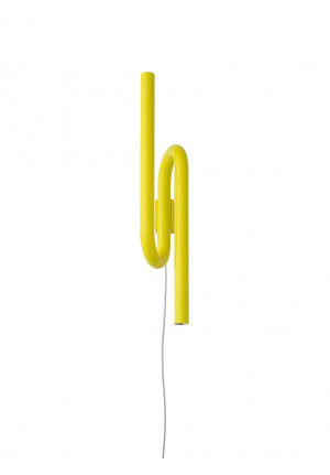 Foscarini Tobia Parete gold with plug lead