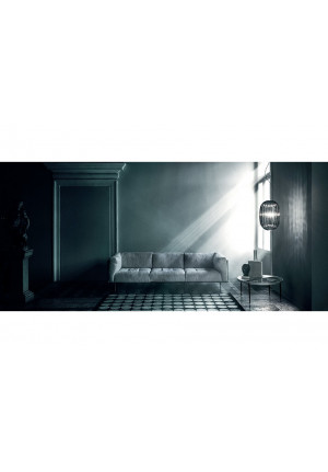 Foscarini Plass Media Sospensione grey