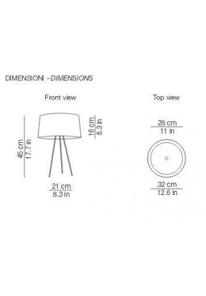 Kundalini Tripod Table spare part