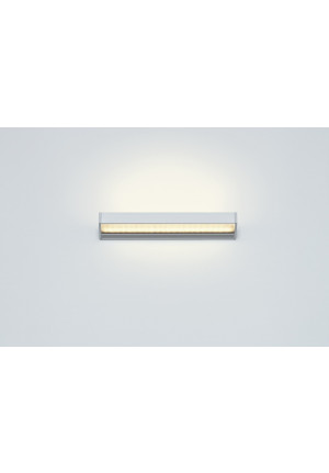 Serien Lighting SML2 Wall 300 Silver satinee / raster