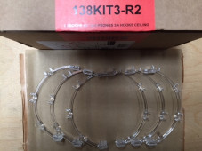 Caboche Soffitto Replacement - Kit 3+3 prongs, 3-4 hooks