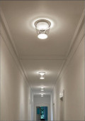 Annex Ceiling halogen clear-aluminum polished