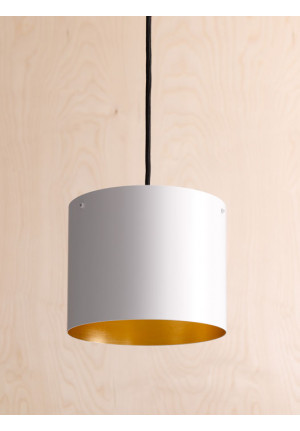 Anta Afra Suspended Lamp white inside gold