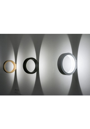 Cini & Nils Assolo wall and ceiling lamp gold, black and white