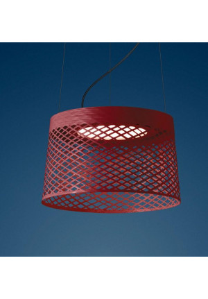 Foscarini Twiggy Grid Outdoor Sospensione red