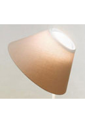 Luceplan Cappuccina Table shade brown/pluie