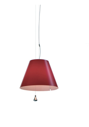 Luceplan Lady Costanza Suspension primary red