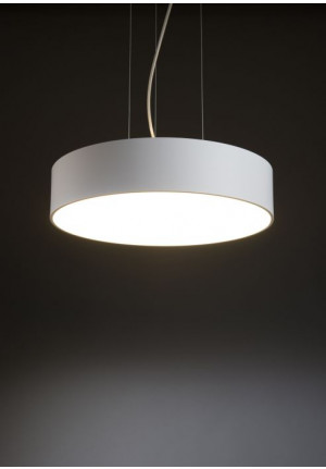 Mawa Bullauge 6 pendant mounting 45cm, switched on