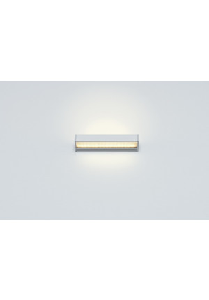 Serien Lighting SML2 Wall 220 Silver satinee / raster