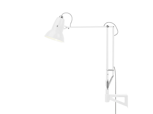 Anglepoise Original 1227 Giant Outdoor Lamp with Wall Bracket white