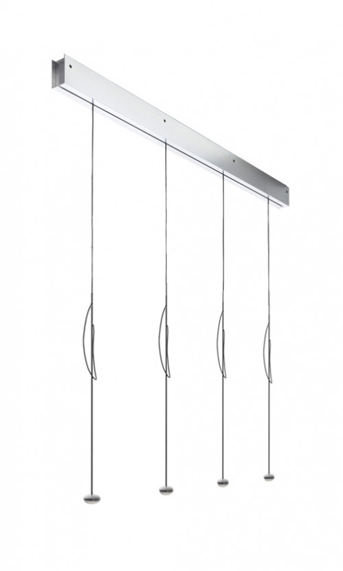 Anta Ny 4 lamps alu with height-adjustability