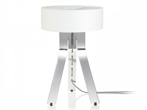 Byok Fino shade ivory, base aluminum polished