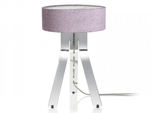 Byok Fino shade purple, base aluminum polished