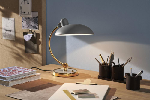 Kaiser Idell 6631 Luxury Table lamp grey