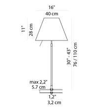 Luceplan Costanza Table Fixing Pin graphic