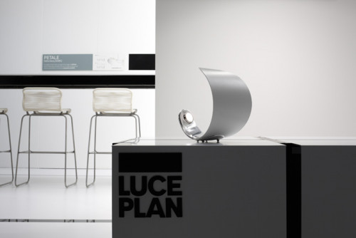 Luceplan Curl with mirror reflector
