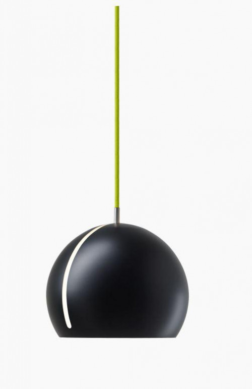 Nyta Tilt Globe black, cable green
