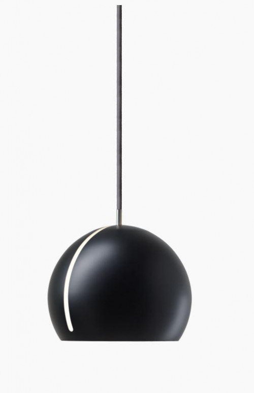 Nyta Tilt Globe black, cable grey