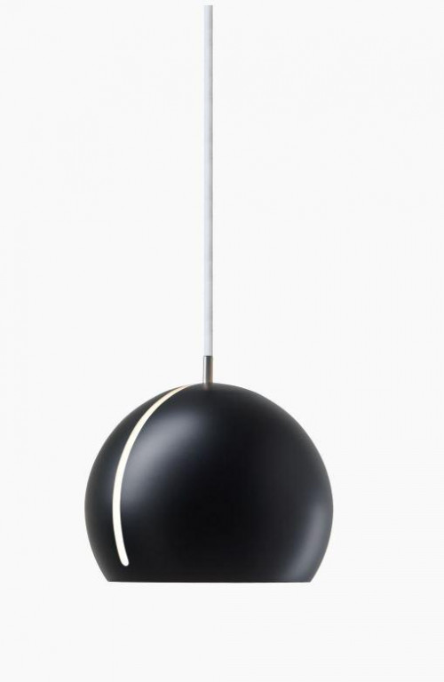Nyta Tilt Globe black, cable white