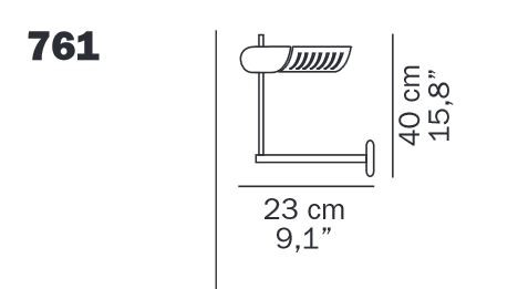 Oluce Colombo 761 spare part