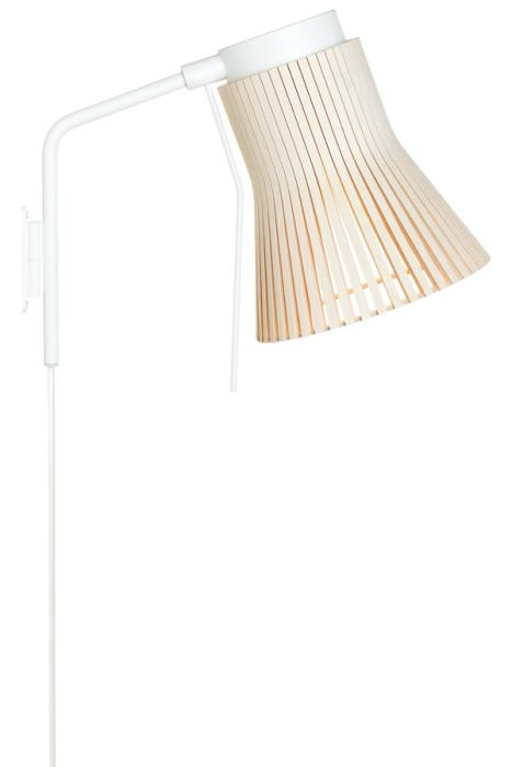 Secto Design Petite 4630 birch with plug lead