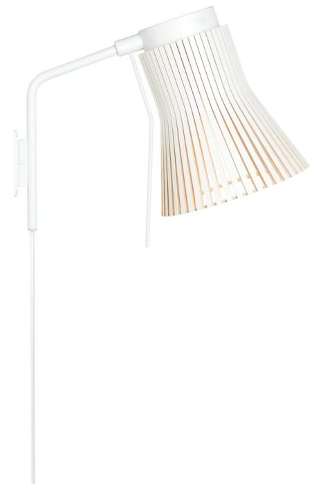 Secto Design Petite 4630 white with plug lead