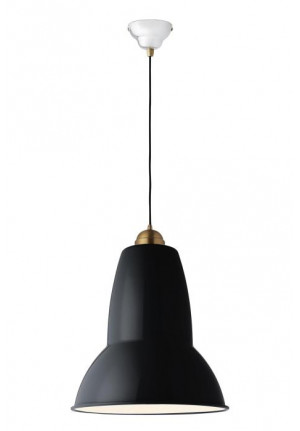 Anglepoise Original 1227 Giant Brass Pendant green