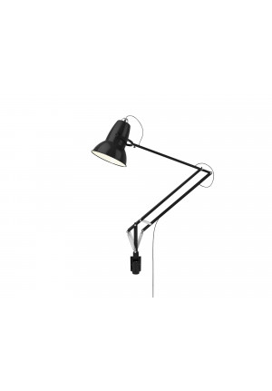 Anglepoise Original 1227 Giant Lamp with Wall Bracket glossy black