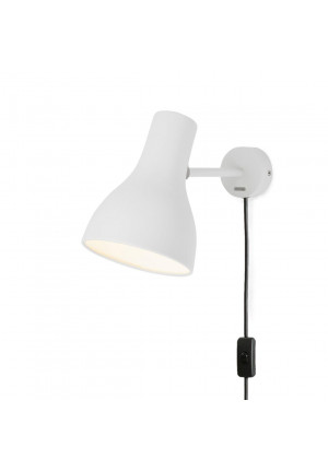 Anglepoise Type 75 Wall Light black with direct wall mounting