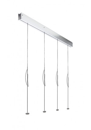 Anta Ny 3 lamps alu with height-adjustability