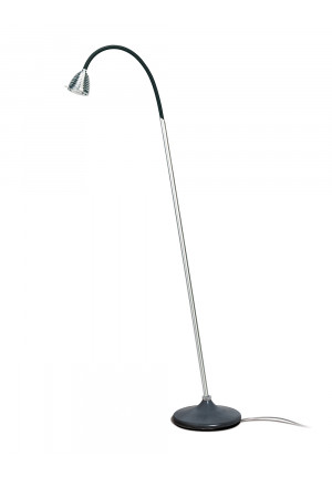 Less'n'more Athene Concrete Floor Light flexible arm black