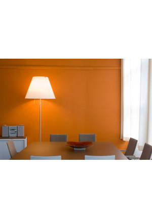 Luceplan Costanza LED Floor primary red