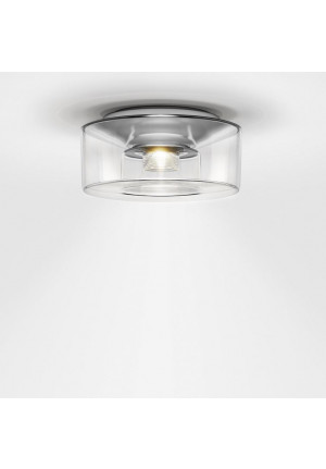 Serien Lighting Curling Ceiling Acryl clear S