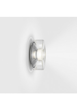 Serien Lighting Curling Wall clear S