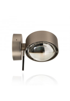 Top Light Puk Wall + Halogen lens/glass chrome matt
