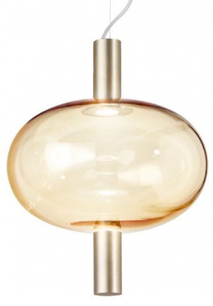 Vistosi Riflesso SP 1 brass, shade crystal