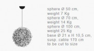 Catellani and Smith Fil de Fer Pendant LED 100 graphic